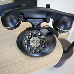 Téléphone des chambres de l'hotel du Splendid
