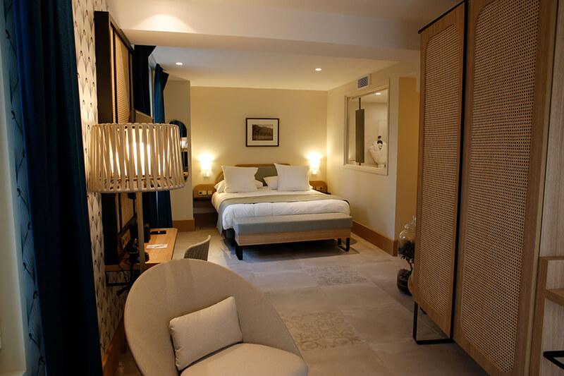 Chambre Onyx de l'Hotel le Splendid à Bandol (83-Var)